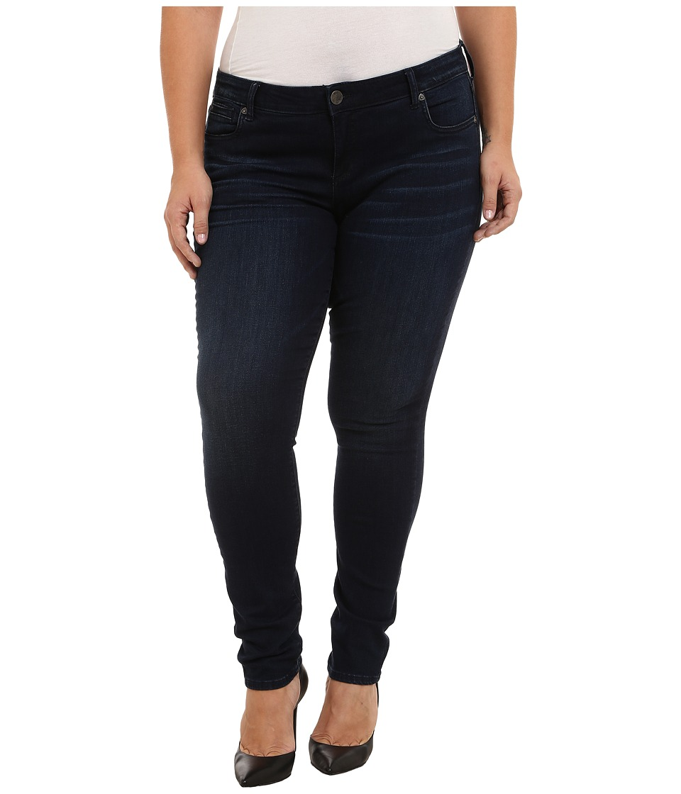 KUT from the Kloth - Plus Size Diana Skinny Jeans in Duty Wash (Duty Wash) Women's Jeans
