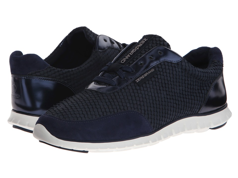 Cole Haan - Zerogrand Sneaker (Blazer Blue Suede/Metallic) Women
