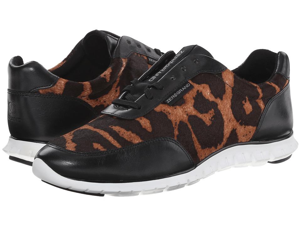 Cole Haan - Zerogrand Sneaker (Ocelot Haircalf/Black) Women