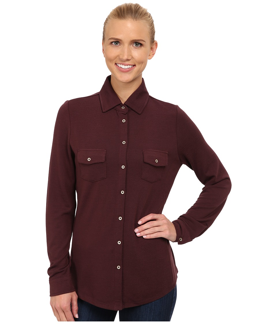 Carve Designs - Napa Button Down (Spice) Women's Long Sleeve Button Up