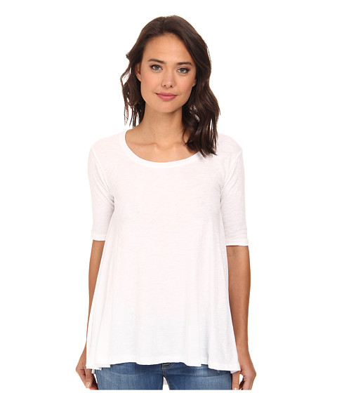 Free People - Melrose Tee (White) Women's T Shirt