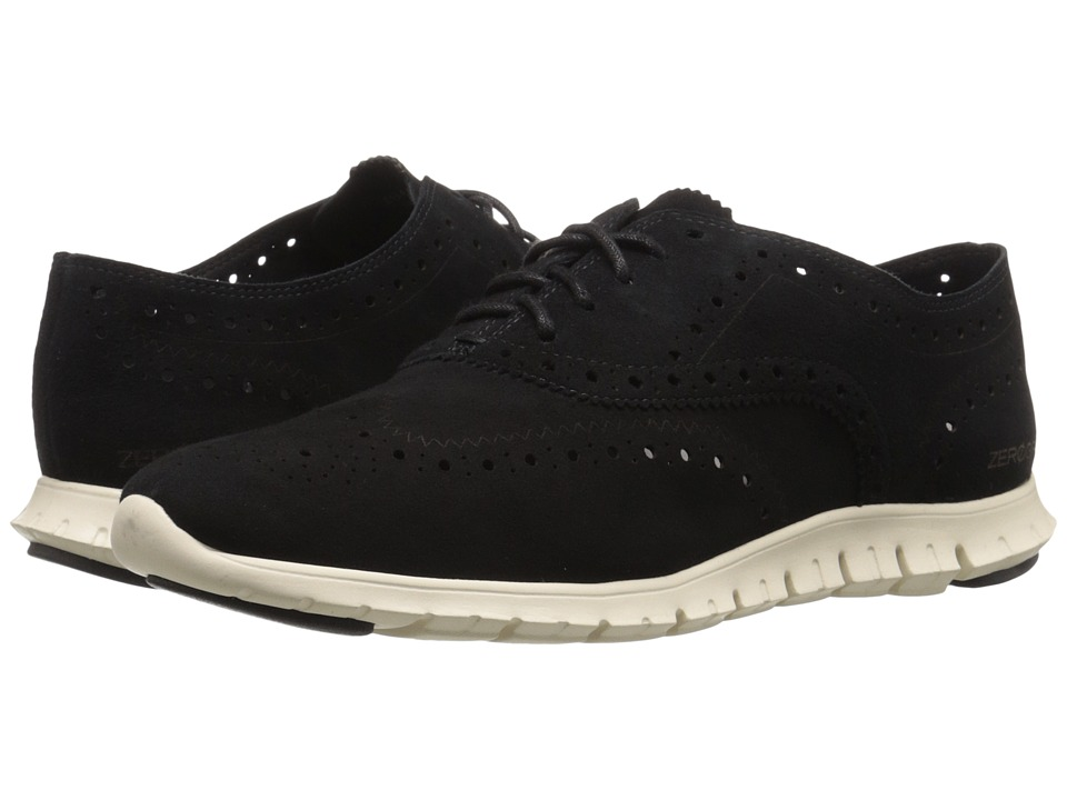 Cole Haan - Zerogrand Wing Oxford (Black Suede) Women's Shoes