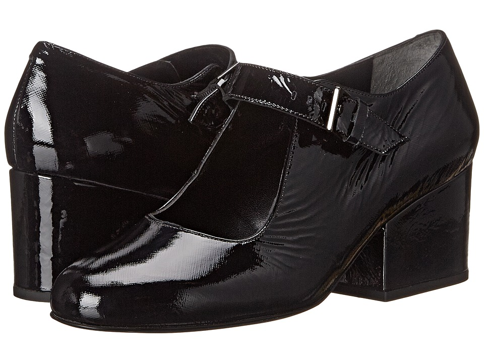 Robert Clergerie - Mett (Black Patent) Women's Shoes