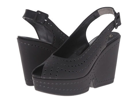 Robert Clergerie - Distar (Black Rubber) Women's Shoes