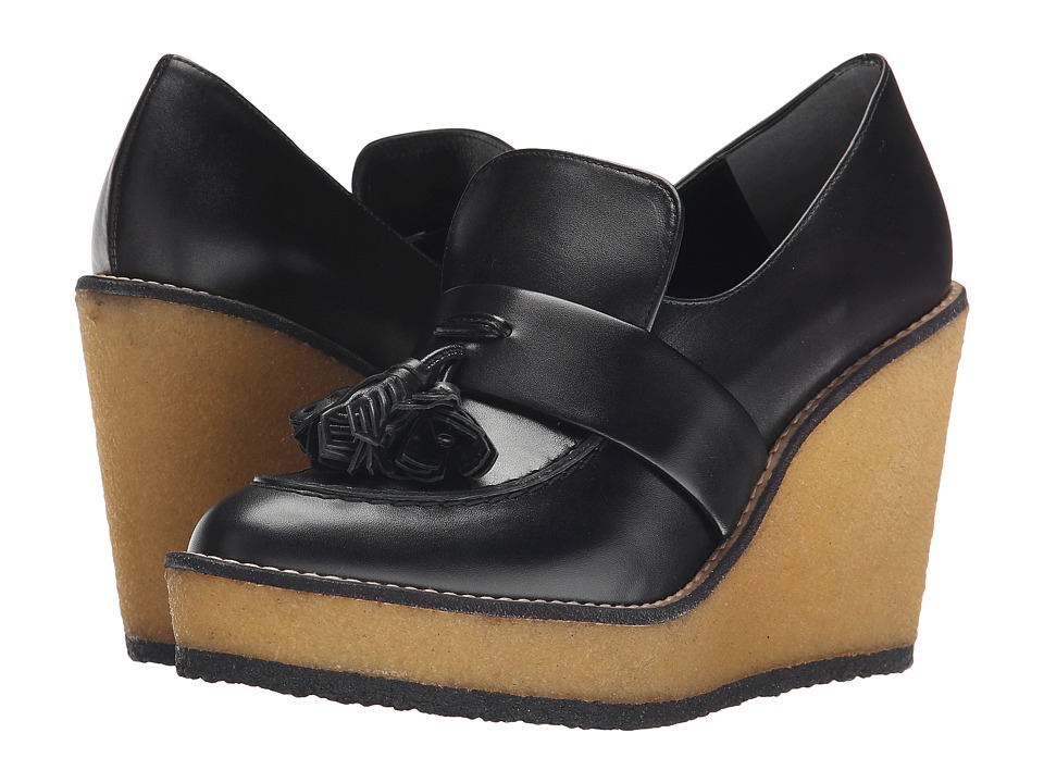 Robert Clergerie Astrid (Black Leather Calf) Women