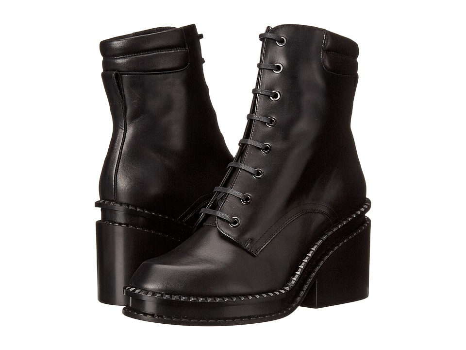 Robert Clergerie Warti (Black Leather Calf) Women
