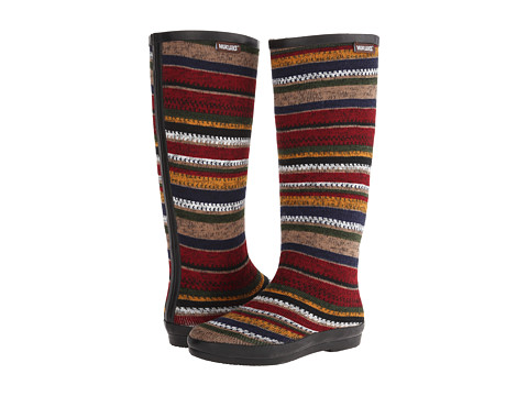 MUK LUKS - Aubrie Rain Boot (Red) Women's Cold Weather Boots