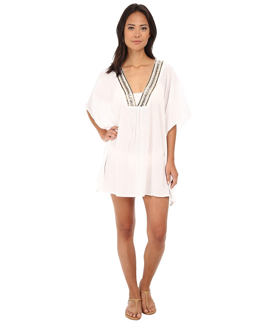 La Blanca - Cabana Tunic Cover-Up (White) Women's Swimwear
