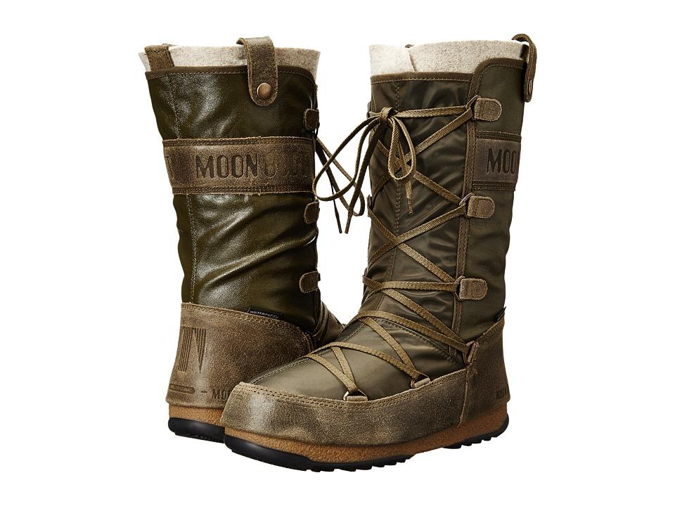 Tecnica - Moon Boot W.E. Monaco Mix (Military) Women's Boots
