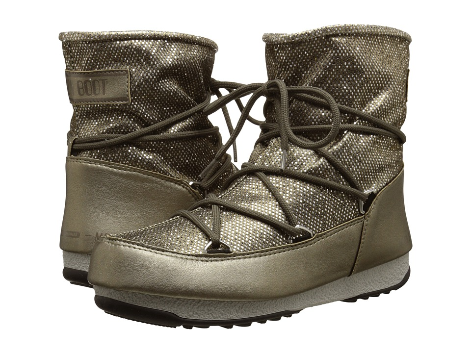 Tecnica - Moon Boot W.E. Low Dance (Platinum) Women's Boots
