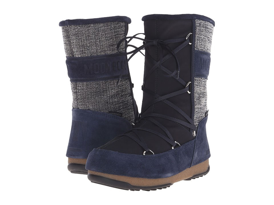 Tecnica Moon Boot Vienna Mix (Denim) Women