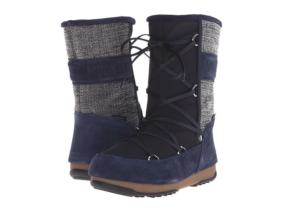 Tecnica - Moon Boot Vienna Mix (Denim) Women's Work Boots