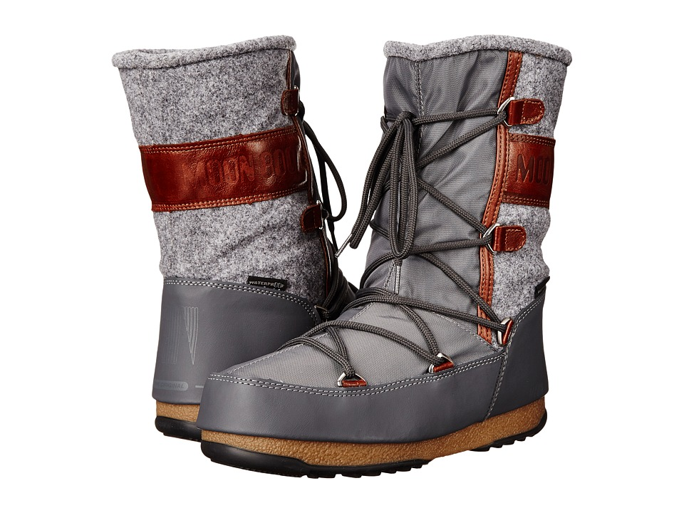 Tecnica Moon Boot(r) W.E. Vienna Felt (Gray) Women