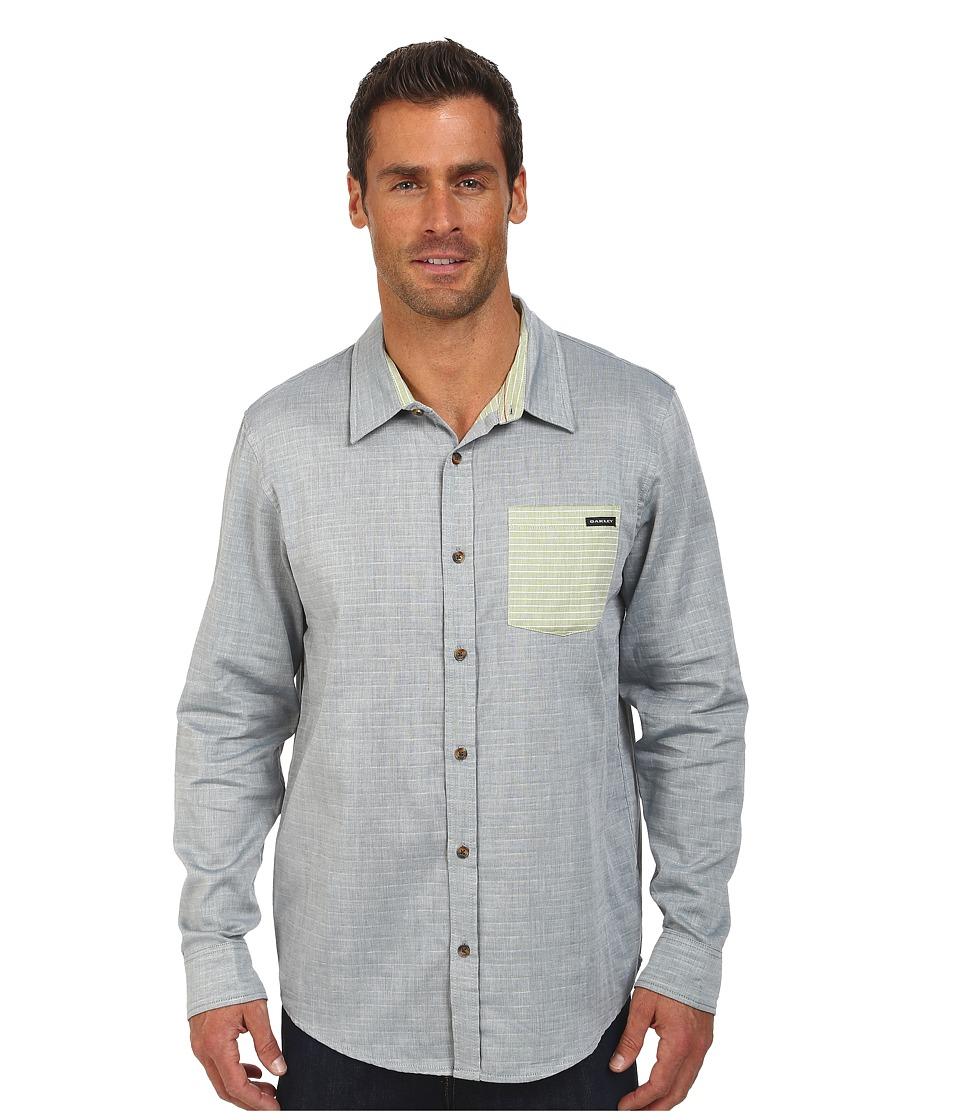 Oakley - Pocket Stripe Woven Shirt (Chino Blue) Men
