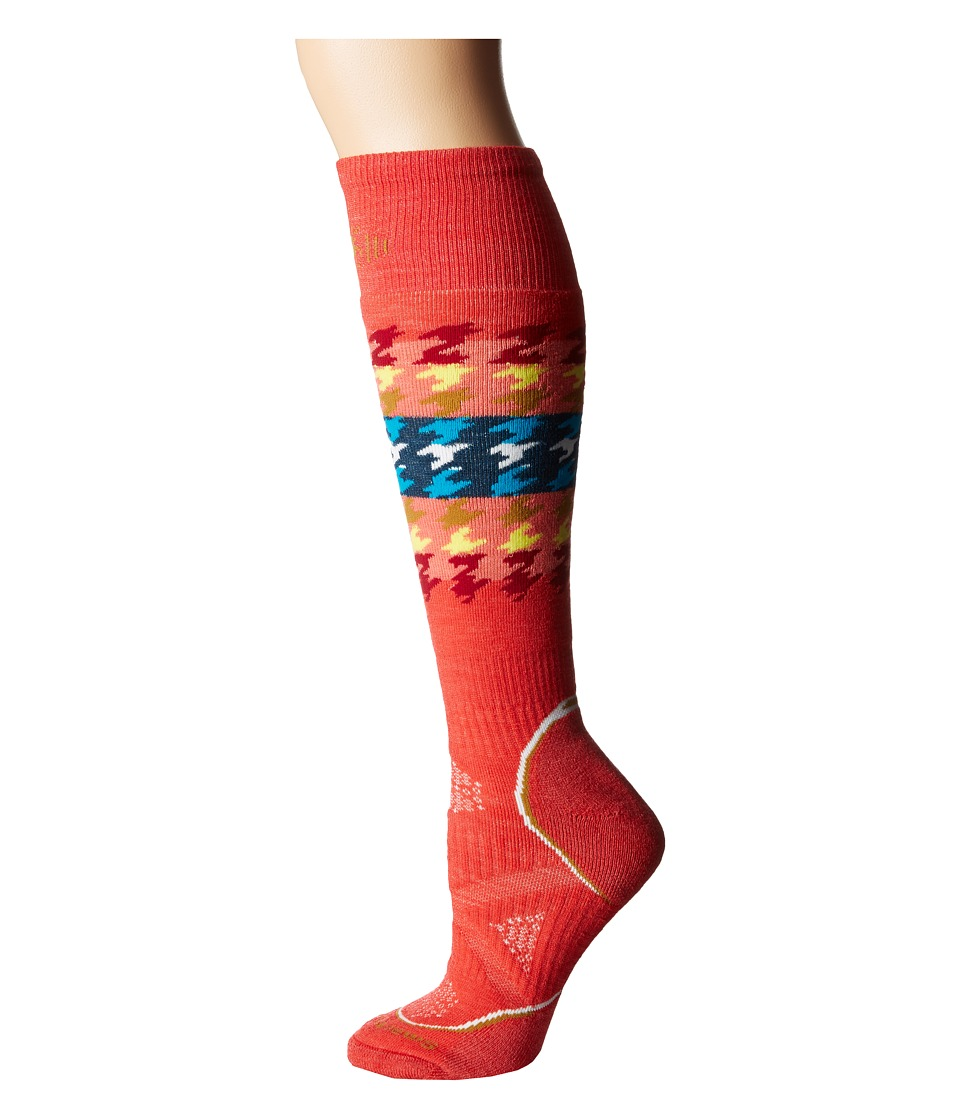 Smartwool - PhD Snowboard Medium (Hibiscus) Women's Crew Cut Socks Shoes