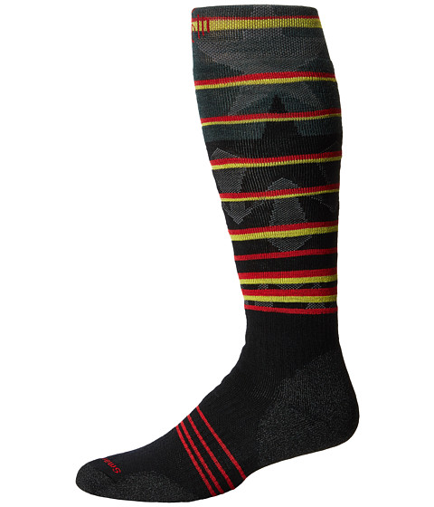 Smartwool - PhD Slopestyle Medium Lincoln Loop (Black) Men's Knee High Socks Shoes