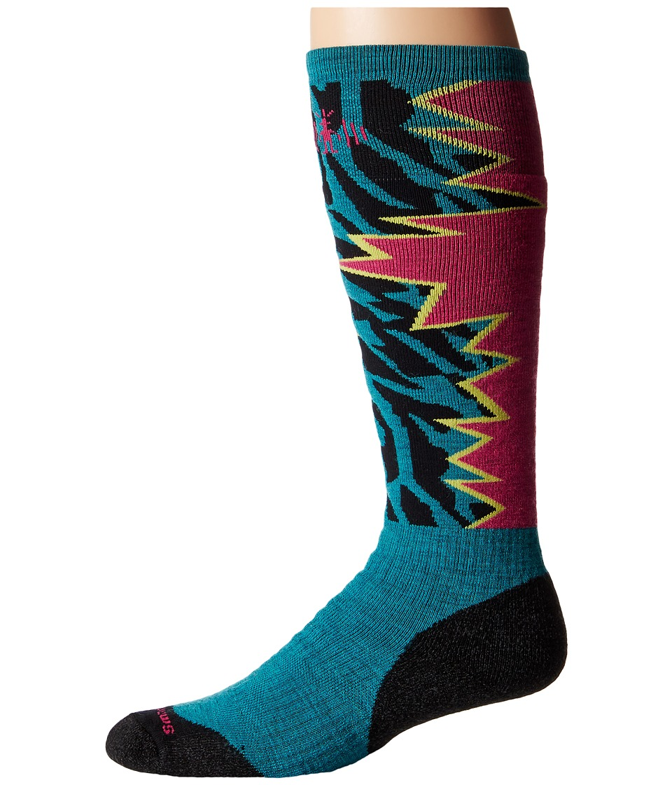 Smartwool - PhD Slopestyle Medium Switch 1980 (Capri) Men's Knee High Socks Shoes
