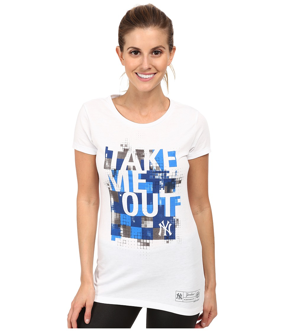 Oakley - O-Ny Take Me Out Tee (White) Women's Short Sleeve Pullover