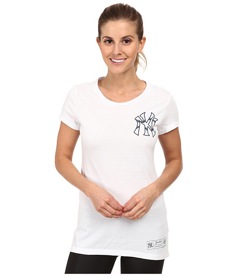 Oakley - O-Ny Stitch Tee (White) Women's Short Sleeve Pullover