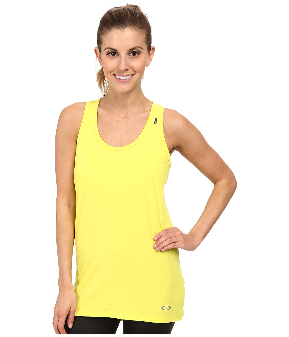 Oakley - Stride Tech Tank Top (Sulphur) Women's Sleeveless