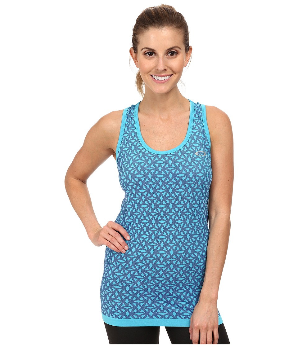 Oakley - Seamlessly Perfect Tank Top (Illumination Blue) Women
