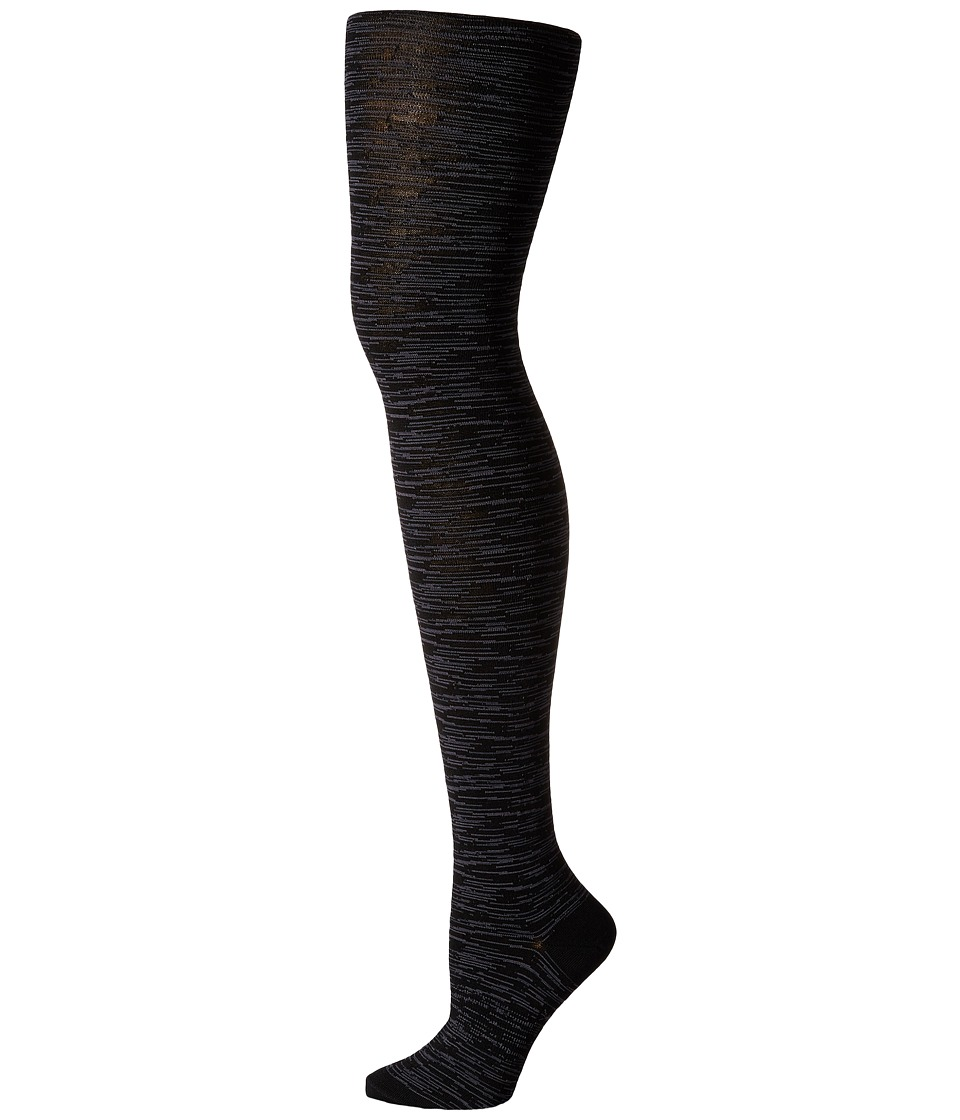 Smartwool - Celestial Sky Tights (Black/Medium Grey) Hose