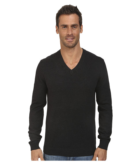 Oakley - Icon V-Neck Sweater (Black/Heather) Men
