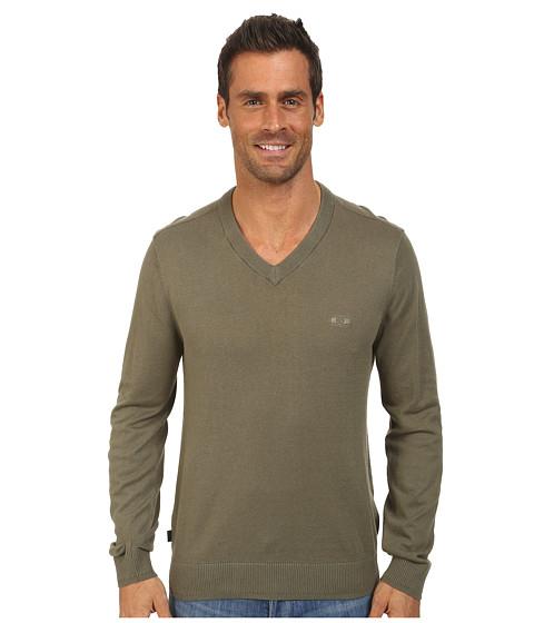 Oakley - All Time Sweater (Worn Olive) Men
