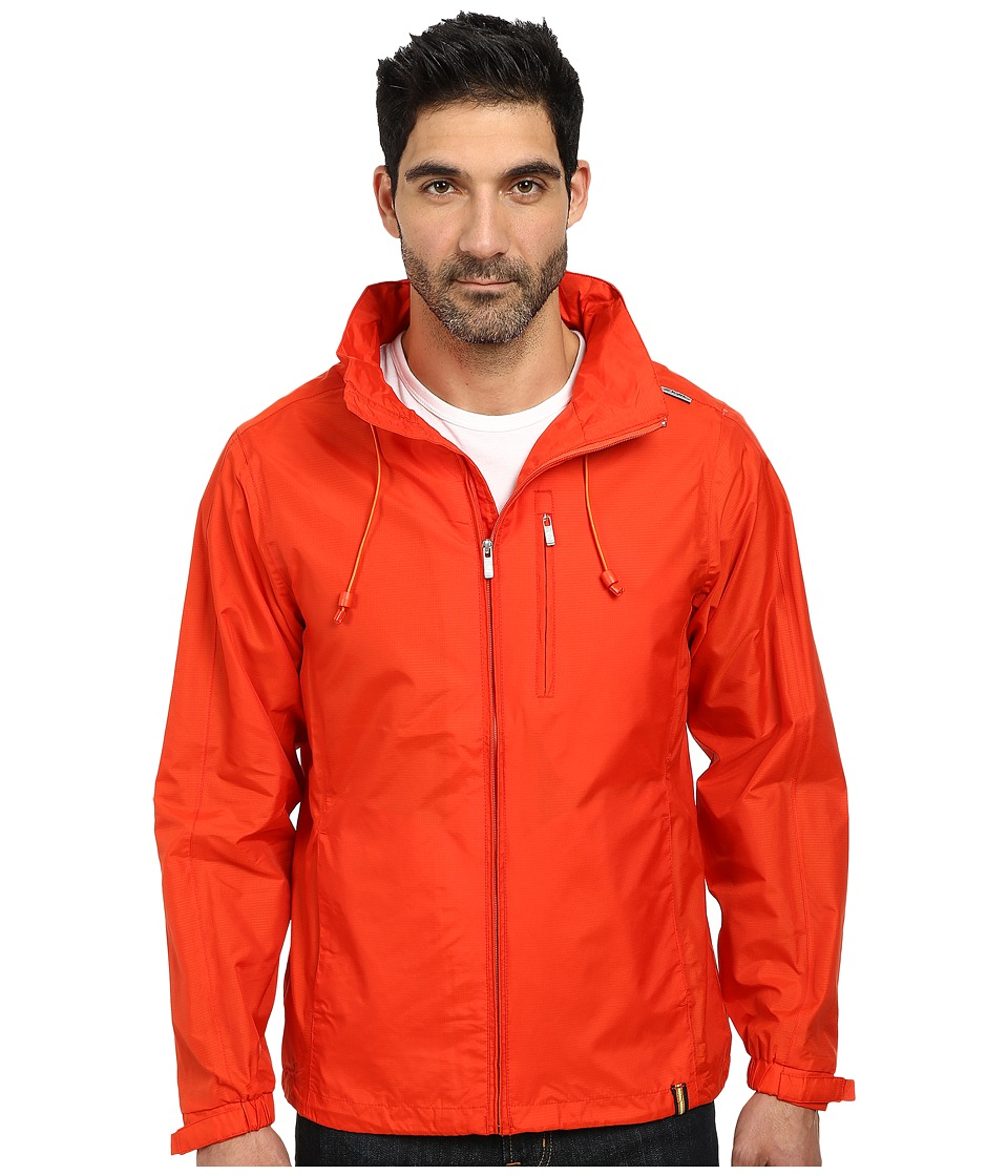 K-WAY - Luc Waterproof Jacket w/ Flex Hood (Retro Red) Men's Coat