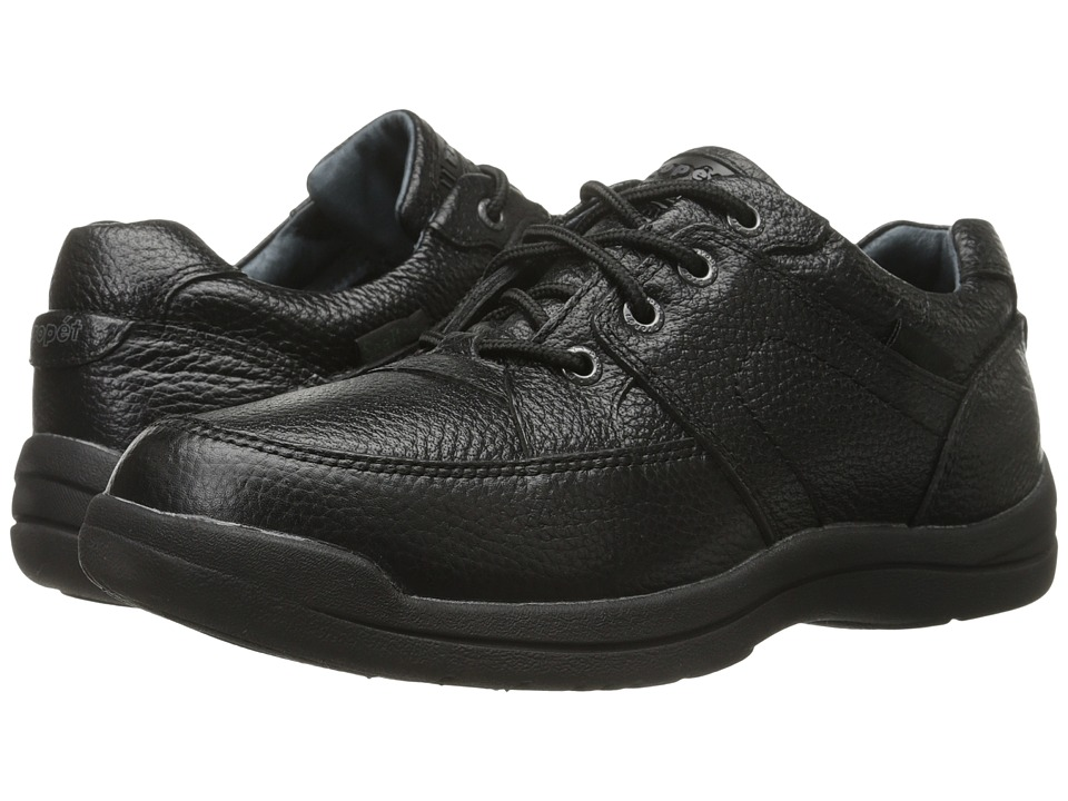 Propet - Four Points II Waterproof (Black) Men's Lace up casual Shoes