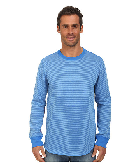 Oakley - Control Reverse Knit Top (Skydiver Blue) Men's Clothing
