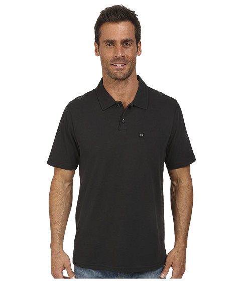 Oakley - O-Basic Polo Top (Jet Black) Men's Clothing