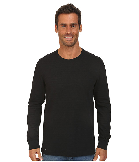 Oakley - Demand Knit Top (Jet Black) Men's Sweatshirt