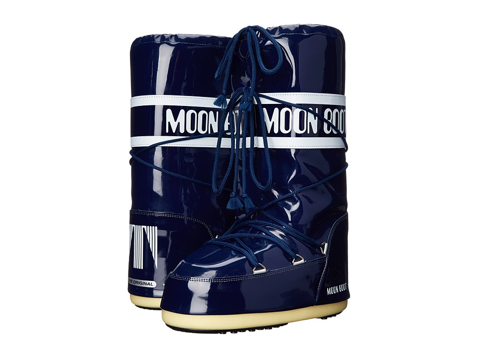 Tecnica - Moon Boot Vinyl (Midnight Navy Blue) Cold Weather Boots