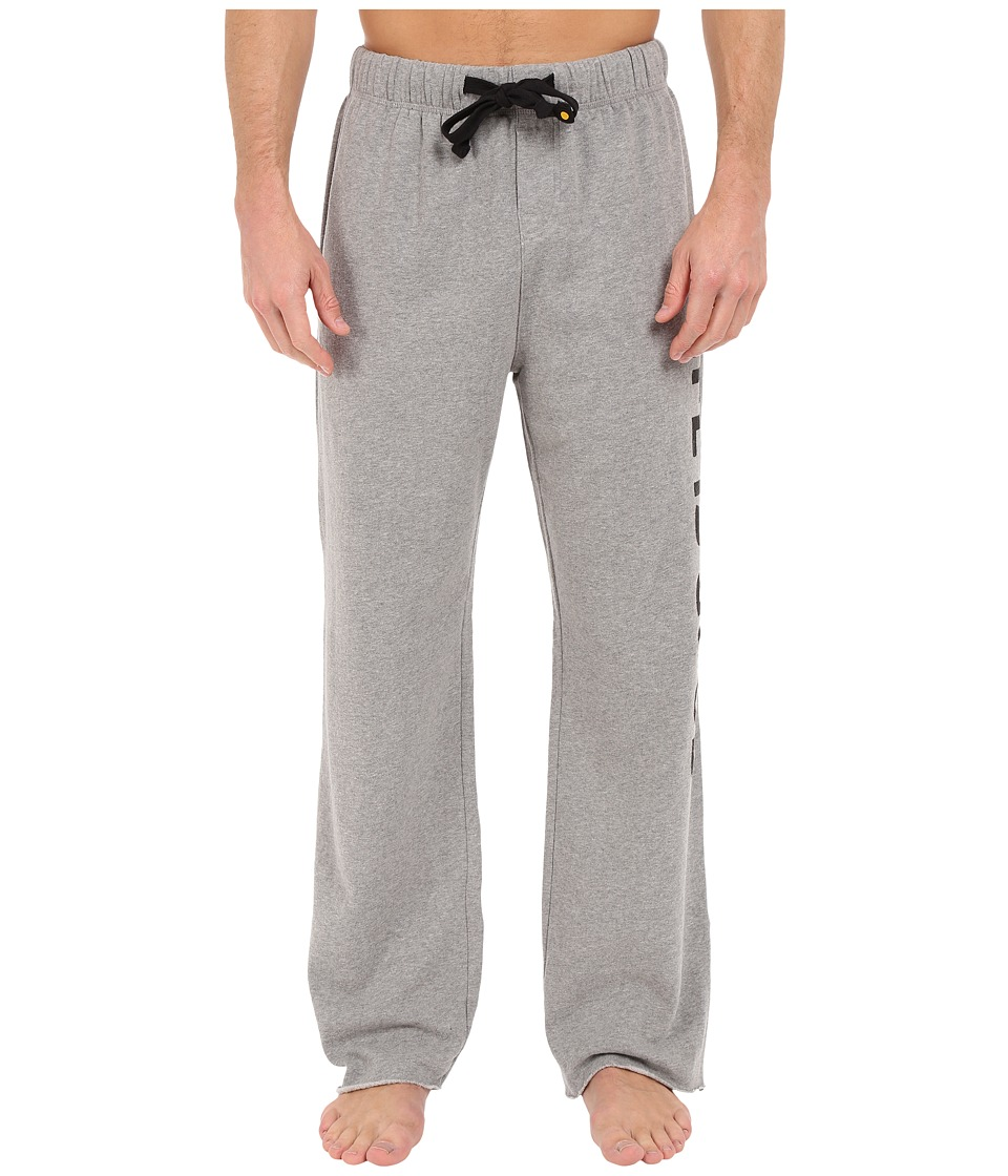 Life is good - Fleece Lounge Pants (Heather Gray) Men's Casual Pants plus size,  plus size fashion plus size appare