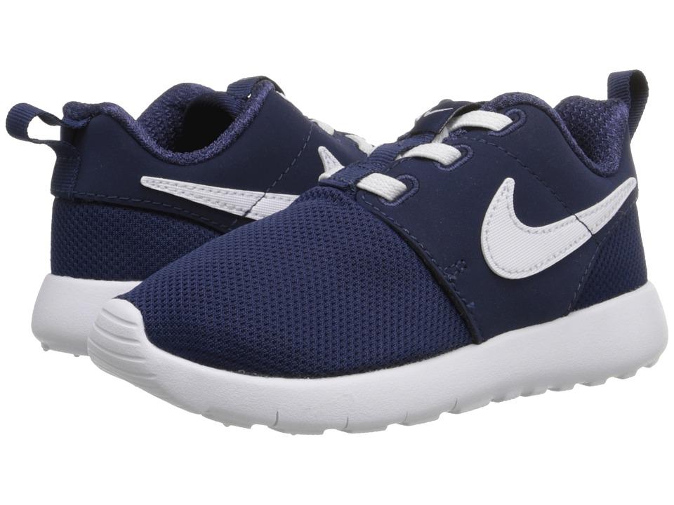 Nike Kids - Roshe One (Infant/Toddler) (Midnight Navy/White) Boys Shoes