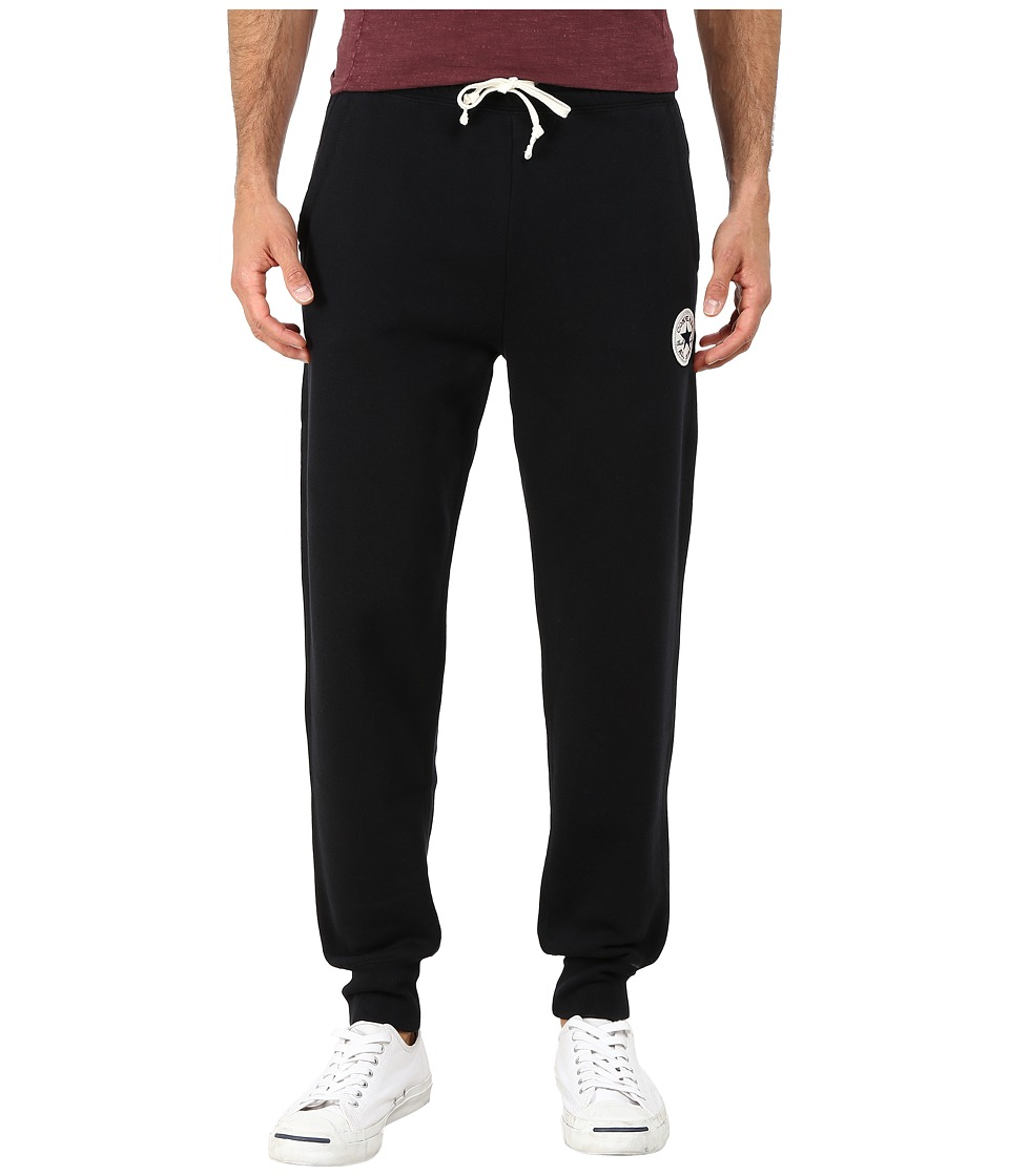 Converse - Core Rib Cuff Pants (Black) Men's Casual Pants