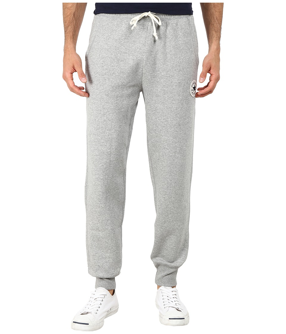 Converse - Core Rib Cuff Pants (Grey Heather) Men's Casual Pants