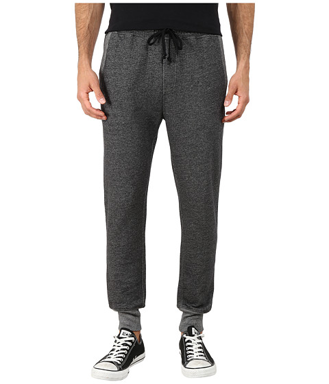 Converse - Core Plus Cuff Pants (Black Heather) Men's Casual Pants