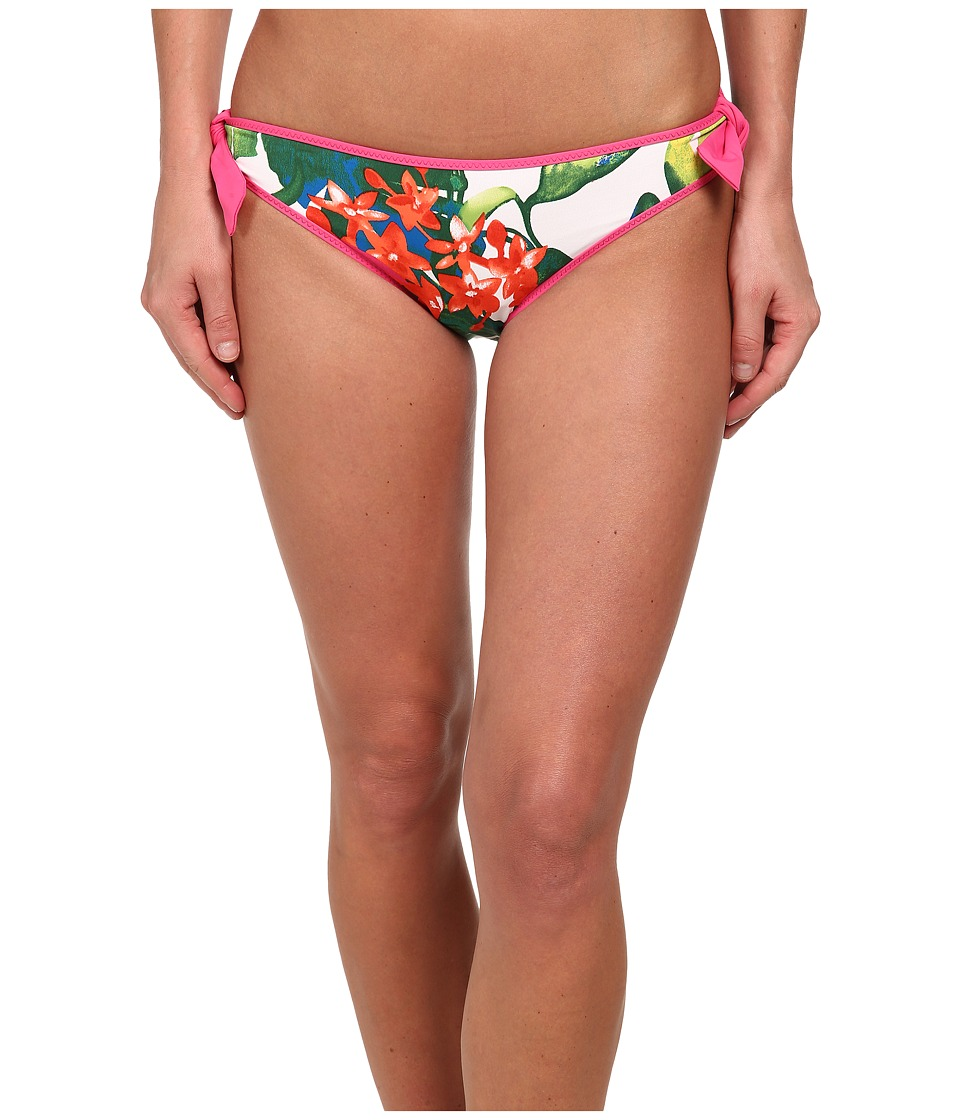 Tommy Bahama - White Tropical Reversible Hipster Bottoms (White) Women