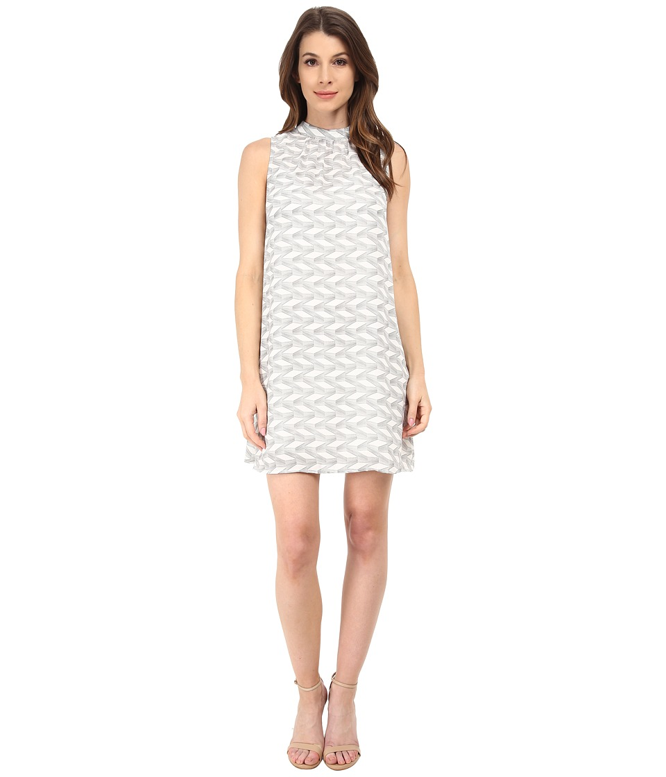 BB Dakota - Cami Printed Dress (Dirty White) Women's Dress