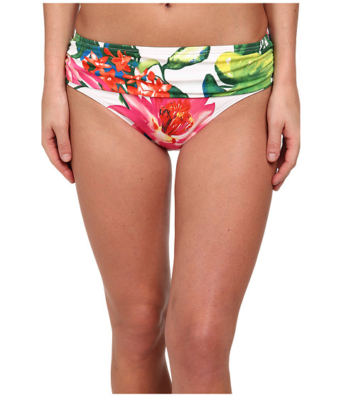 Tommy Bahama - White Tropical High Waist Sash Bottoms (White) Women