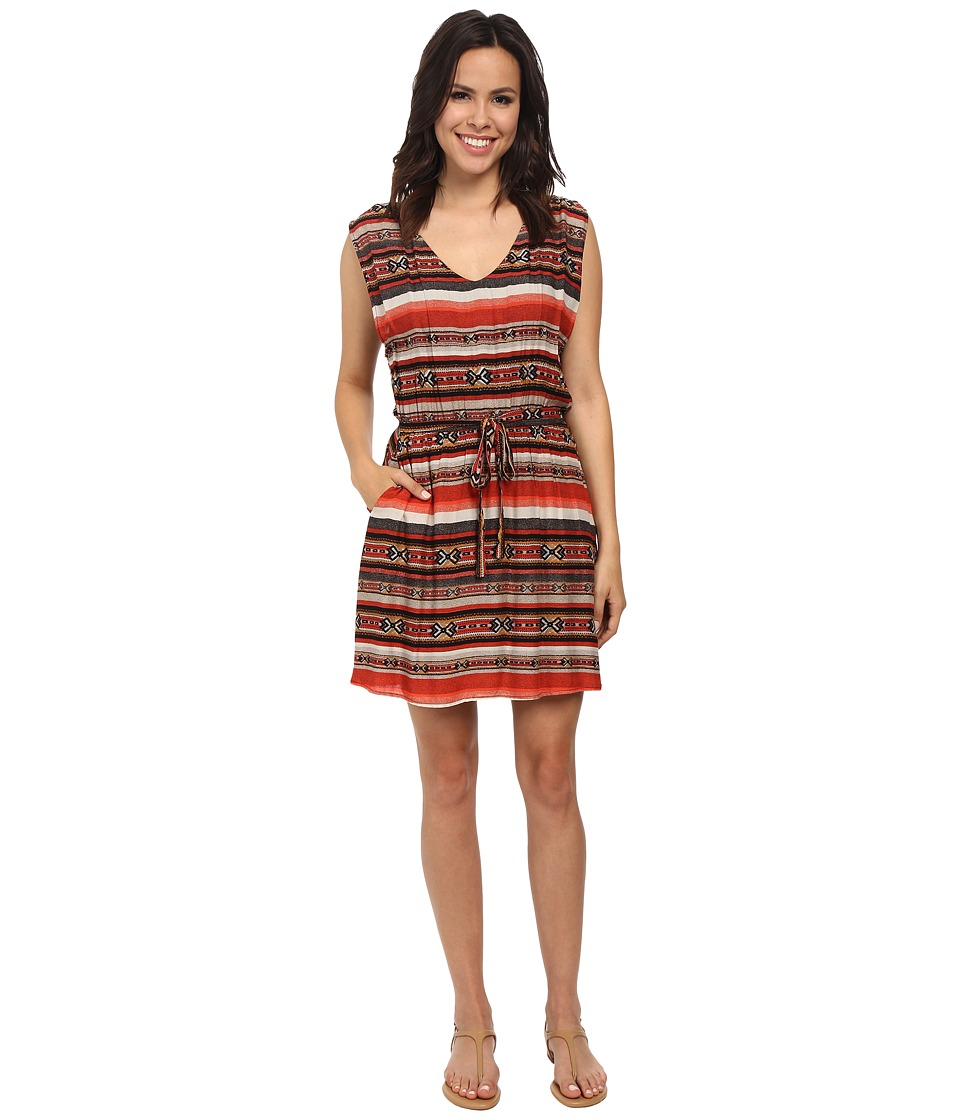 BB Dakota - Ryder Moccasin Printed Dress (Multi) Women's Dress