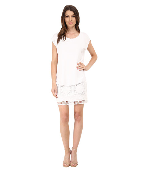 Bailey 44 - Tent Dress (White) Women's Dress
