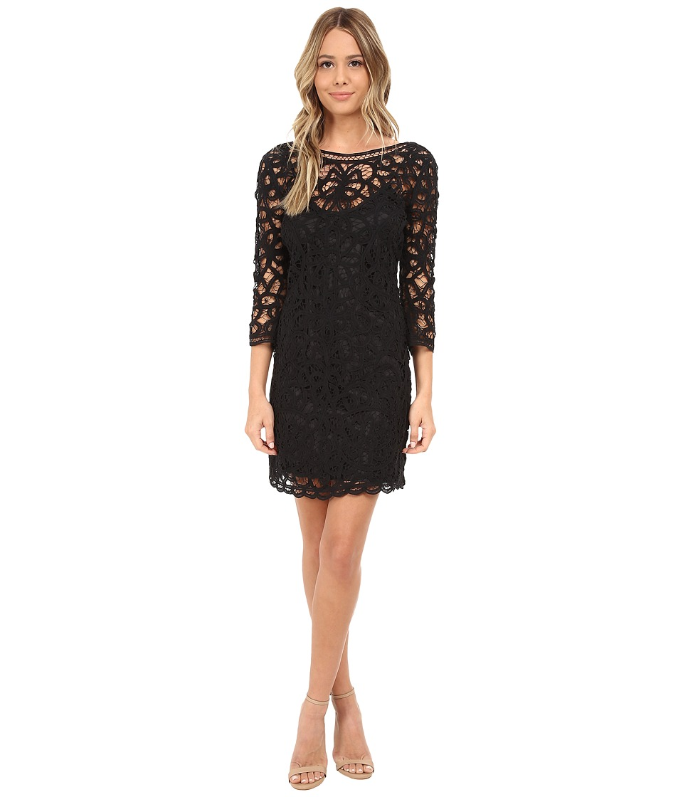 BB Dakota - Leigh Soutache Dress (Black) Women's Dress