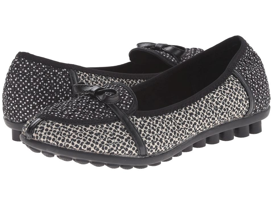 bernie mev. - Leah (Beige/Black Polkadot) Women's Flat Shoes