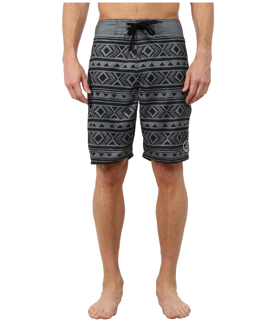 Life is good - Bold Coast Boardshorts (Stormy Gray) Men's Swimwear