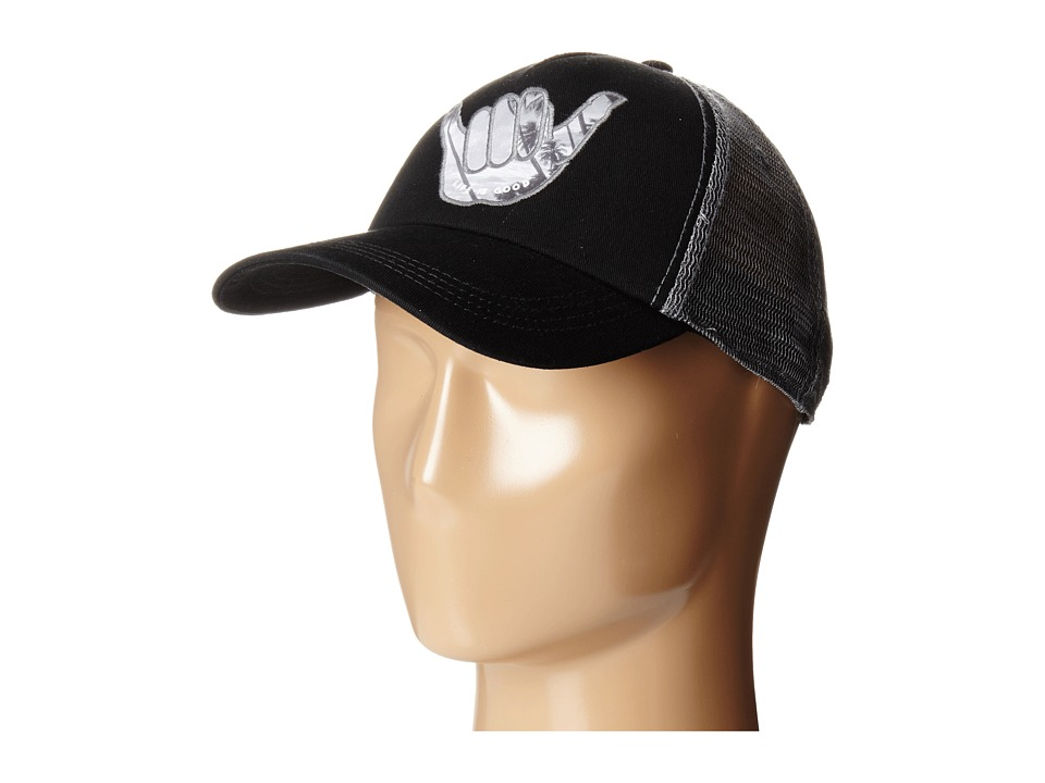Life is good - Mesh Back Hat (Night Black) Caps
