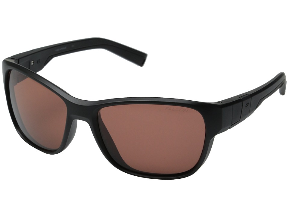 Julbo Eyewear - Coast Performance Sunglasses (Matte Black/Black 1 Falcon Lens) Sport Sunglasses