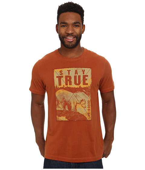 Life is good - Creamy Tee (Rustic Copper) Men